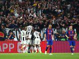 Juve mit einem Bein im Habfinale: Barcelona geht schon wieder baden