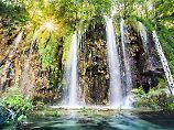 Kroatiens Naturparadies: Touristenmassen besuchen die Plitvicer Seen