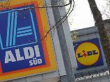 Kampf um Weltmarktführerschaft: Lidl und Aldi sollen bald gleichauf liegen