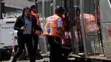 Zwischenfall in Jerusalem: Palästinenser ersticht junge Britin