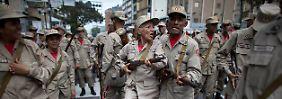 Zweifel an Loyalität der Armee: Venezuela steht am Rande eines Bürgerkriegs