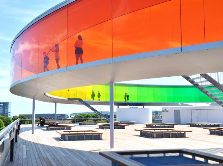 Anlaufpunkt nicht nur im Kulturhauptstadtjahr: das Kunstmuseum von Aarhus.