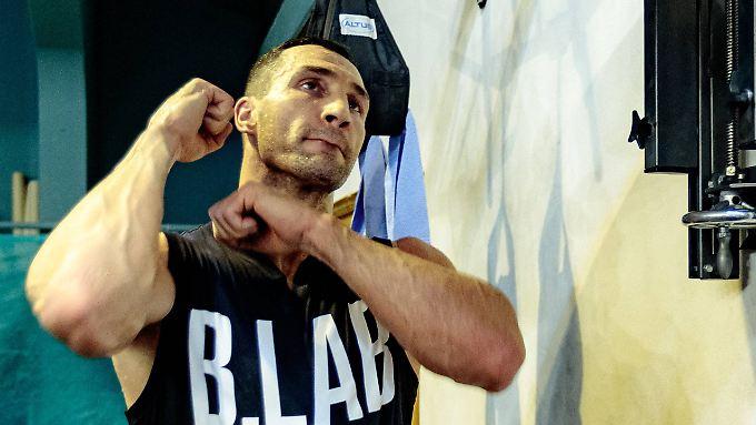 Wladimir Klitschko reizt die Champions League des Boxens gar nicht.