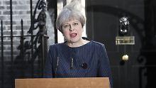 """Neuwahlen in Großbritannien: """"May könnte sich verkalkulieren"""""""