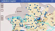 Bundesnetzagentur veröffentlicht Karte: Hier gibt's Strom für Ihr E-Auto