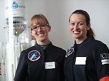 Nur eine darf ins All: Zwei Frauen auf Astronautinnen-Mission