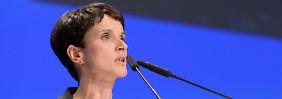 AfD vor der Bundestagswahl: Frauke Petry verzichtet auf Spitzenkandidatur