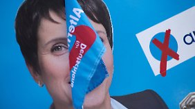 Bedauern, Kampfansagen, Fragen: Petrys Verzicht auf Spitzenkandidatur erwischt AfD kalt