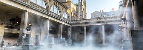 Heiße Quellen und schicke Villen: Bath - Wellness und Landpartie in einem