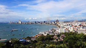 Pattaya zieht Bade- und Sextouristen an.