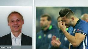 """Olaf Thon nach CL-Aus gegen Ajax: """"Schalke wird letzte Bundesligaspiele hervorragend bestreiten"""""""