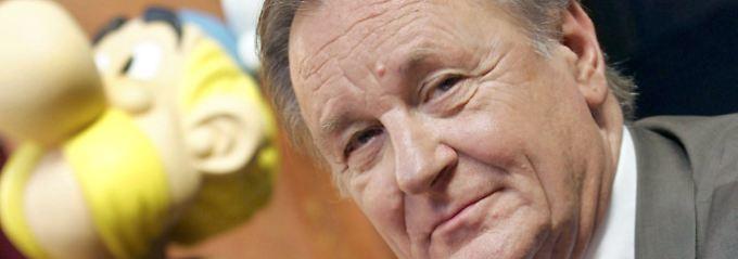"""Asterix-Schöpfer Uderzo wird 90: """"Ich bin ein Clown, der zeichnen kann"""""""