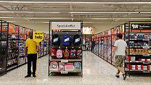 Preisanstieg verschreckt Kunden: Brexit lähmt britischen Einzelhandel