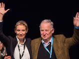 Weidel und Gauland: AfD geht mit Spitzen-Duo in Wahlkampf