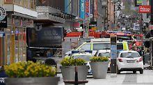 Lkw-Attentat in Stockholm: Zahl der Anschlagsopfer steigt auf fünf