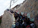 Die Evakuierungsmaßnahmen nach dem Erdbeben waren zum Glück unnötig.