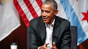 Kein Wort zu Trump: Obama kehrt zurück in die Öffentlichkeit