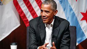 Kein Wort zu Trump: Obama kehrt in die Öffentlichkeit zurück