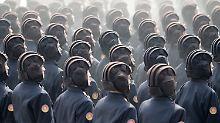 Muskelspiele auf der Halbinsel: Nordkoreas Militär hält größte Übung ab