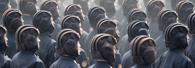 Muskelspiele auf der Halbinsel: Militär in Nordkorea und Südkorea übt