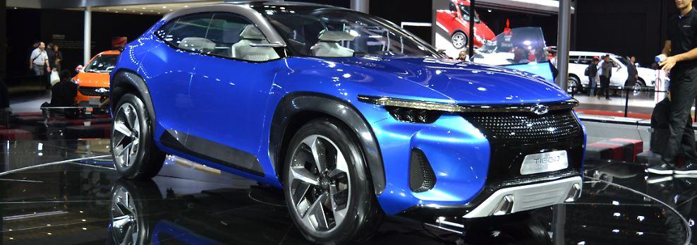 Auch das Tiggo Sport Coupé von Chery ist ein sehr gelungenes Beispiel für den neuen chinesischen Autobau.