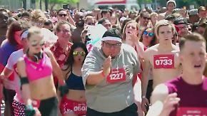 Witzige Promotion: Baywatch-Filmemacher veranstalten Slow-Motion-Marathon