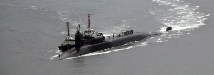 Konflikt mit Nordkorea: USA bauen Raketenschild und entsenden Atom-U-Boot