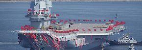 Pekings militärische Ambitionen: Neuer Flugzeugträger demonstriert Chinas Stärke
