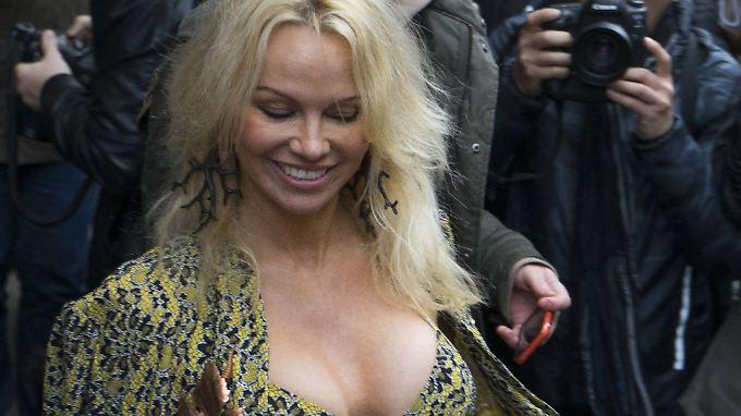 Ja, sie hat noch immer ihre Reize: Pamela Anderson.