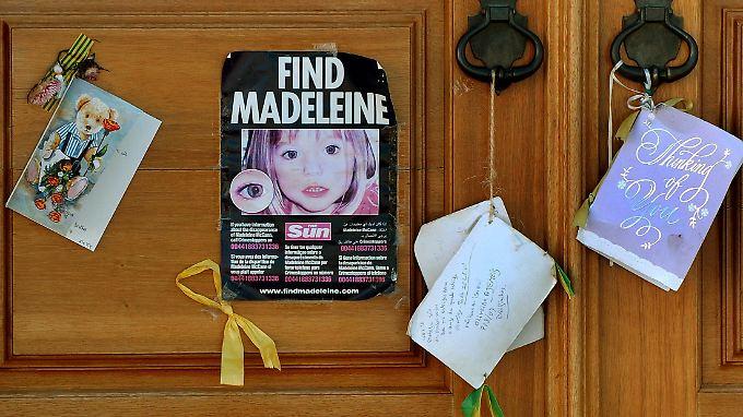 Maddie verschwand im Alter von drei Jahren aus einer Ferienwohnung in Portugal.