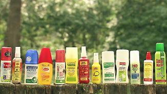 n-tv Ratgeber: Mücken- und Zecken-Schutzmittel im Stiftung-Warentest
