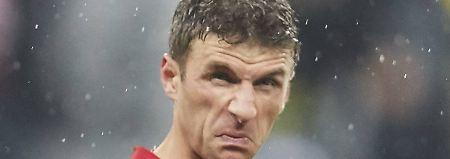Tristesse beim roten Riesen: Der FC Bayern hat's vermasselt