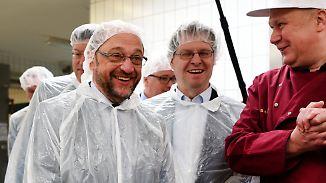 SPD-Kandidat Martin Schulz: Kein Gott, aber vielleicht ja Kanzler