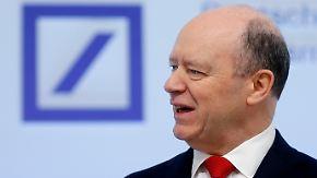 Nach zwei Verlustjahren: Deutsche Bank überrascht mit Gewinnsprung