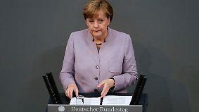 Brexit-Verhandlungen mit der EU: Merkel warnt Großbritannien vor Illusionen