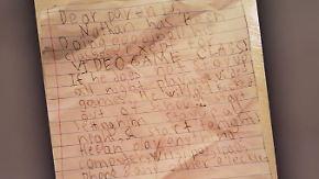 """Siebenjähriger fälscht Lehrer-Brief: """"Bitte lassen Sie ihn die ganze Nacht Videospiele spielen"""""""