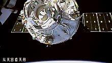 Bald der einzige Außenposten?: China beginnt Bau eigener Raumstation
