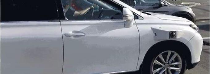 Ausstattung von der Stange: Apples Auto-Projekt auf der Straße gesichtet