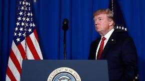 Unberechenbare Kehrtwenden: Trumps Außenpolitik lässt keine Strategie erkennen