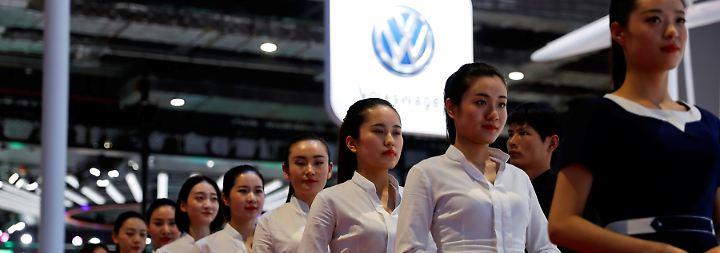 Saubere Wagen für chinesischen Markt: Deutsche Autobauer greifen auf Shanghai Auto Show an