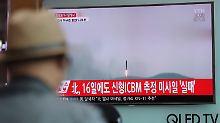 """Nuklearprogramm geht voran"": Nordkorea beunruhigt Atomenergiebehörde"