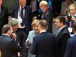 Angela Merkel und ihre Kollegen entscheiden schnell.