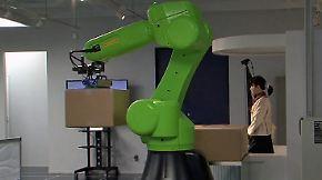 Testphase vor dem Kauf: Roboterverleih ist in Japan ein voller Erfolg