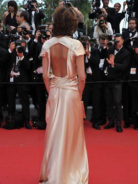 """""""C"""" wie """"Cannes"""" - ein schöner Rücken kann auch entzücken, klar."""