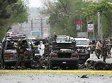 Nato-Konvoi als Ziel der Attacke: IS reklamiert Anschlag in Kabul für sich