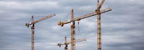 Großer Bedarf an Wohnungen: Baubranche in Deutschland boomt