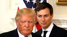 Jared Kushner ist Trumps Schwiegersohn und Chefberater - und verwischte Spuren zu Banken und Großinvestoren.