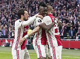 Feuerwerk gegen Lyon: Furioses Ajax stürmt Richtung Finale