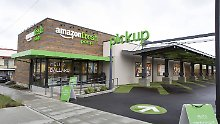 In den USA gibt es - wie hier in Seattle - bereits Amazon-Fresh-Märkte.