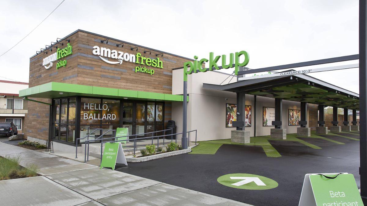 Amazon Supermarkt Online